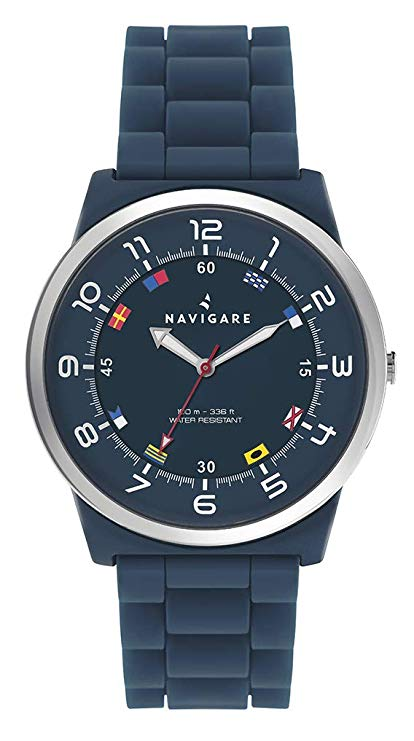 New! Orologio watch uomo Navigare water resistant 10ATM