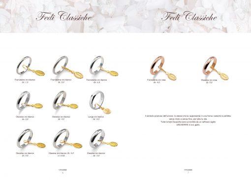 catalogo-fedi-unoaerre classiche oro bianco rosa