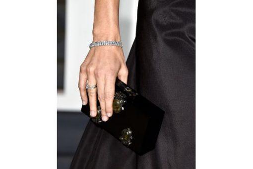 bracciale tennis con diamanti oro bianco 18kt