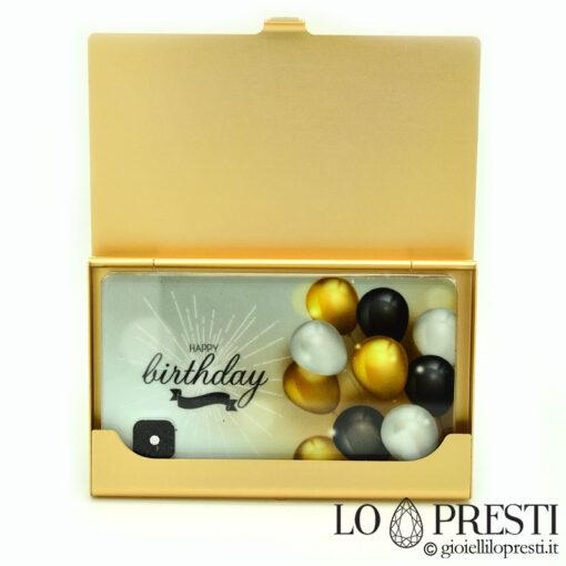 diamante blister regalo compleanno foto e dedica personalizzata idea regalo originale diamanti certificati blisterati