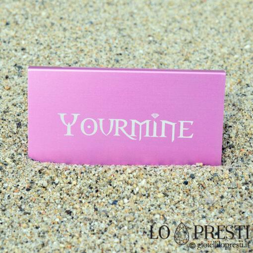 diamante diamanti blister foto dedica regalo personalizzato regalo battesimo regalo compleanno regalo laurea regalo comunione matrimonio