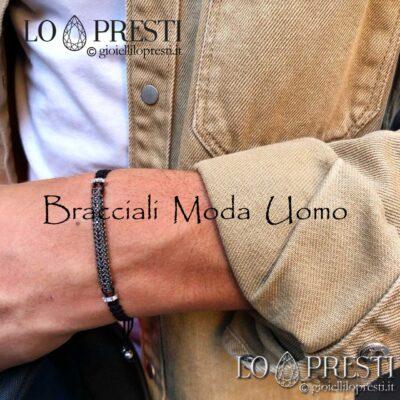 Bracelets en argent pour hommes